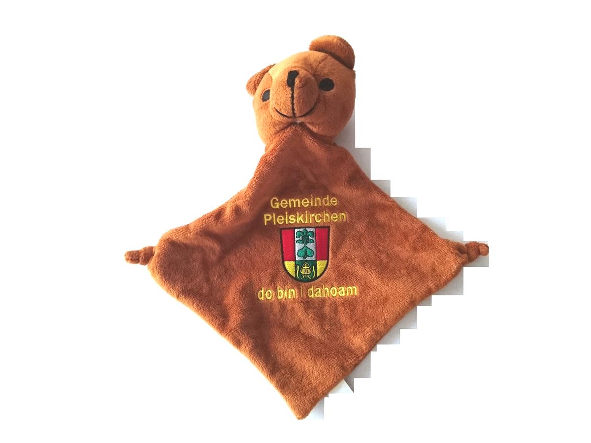 Schnuffeltuch-Bär