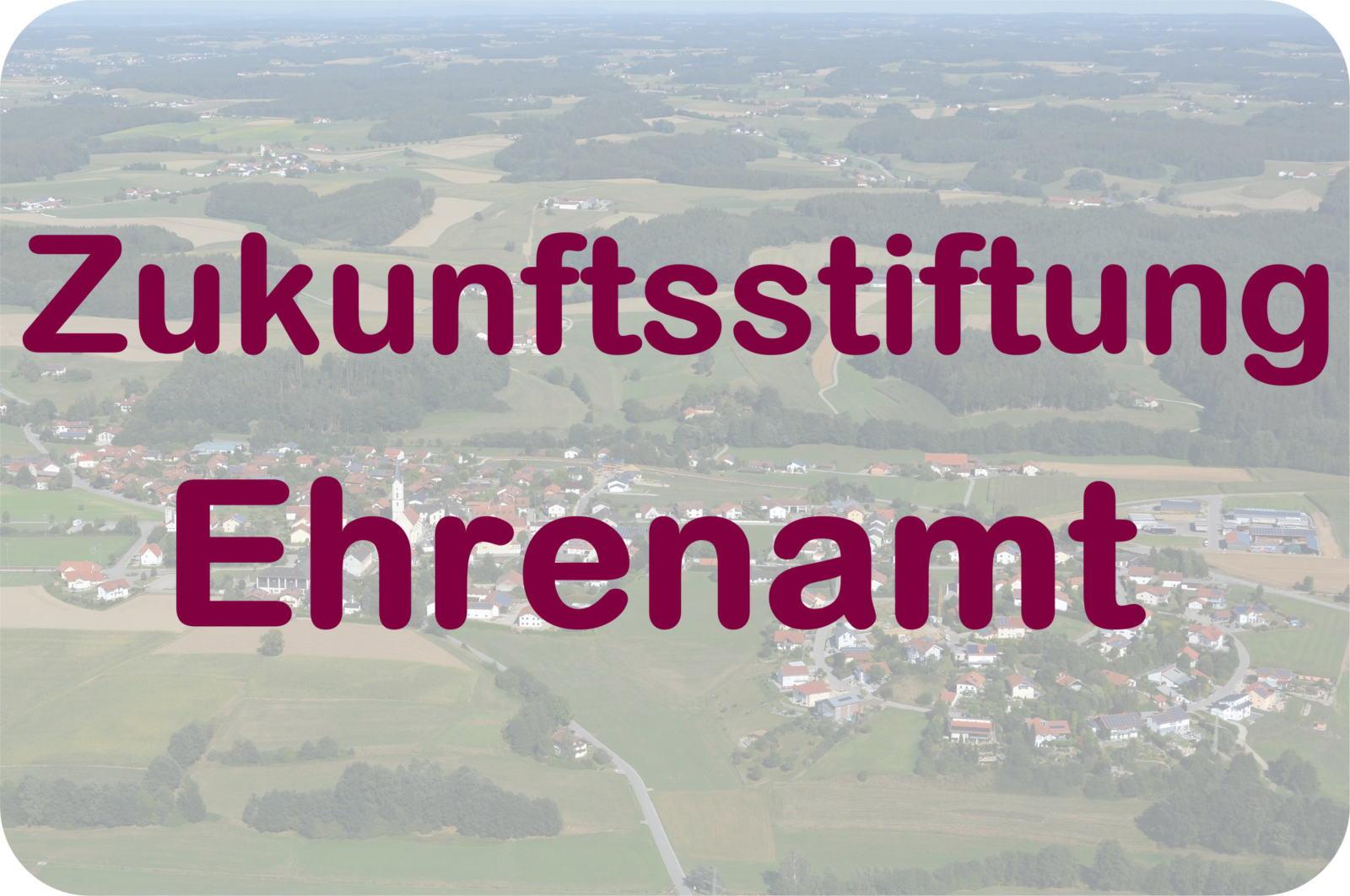 Projektausschreibung Der Zukunftsstiftung Ehrenamt